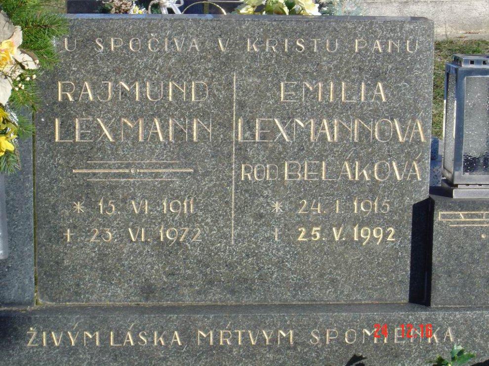 lexmann rajmund hrob