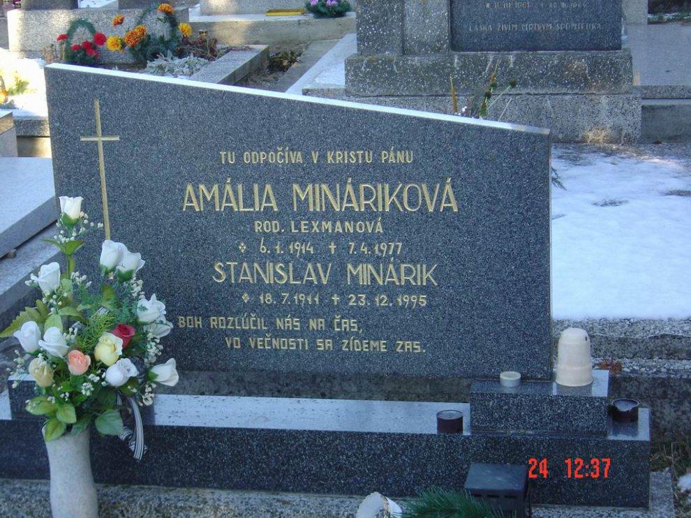 minarikova amalia hrob