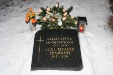 Eduard Lexmann s manželkou v Bratislave