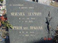 Silvester Lexmann s manželkou Amáliou r. Tinkel