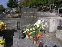 Alojz Lexmann (z vetvy Franza Lexmanna) na trenčianskom cintoríne