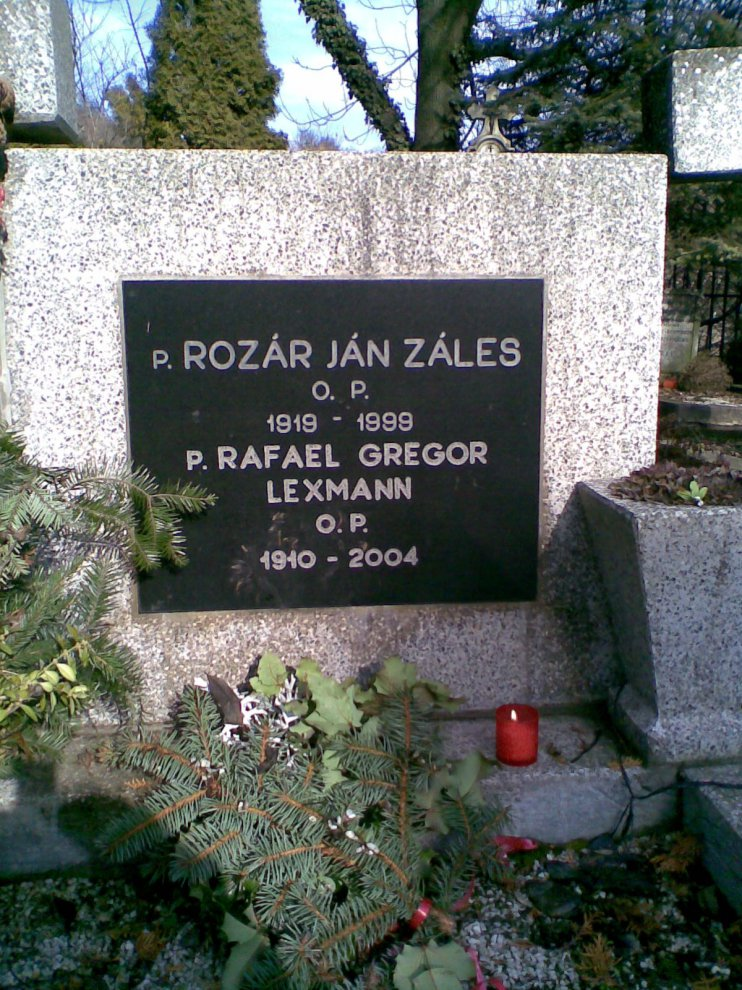 Gregor Lexmann P. Rafael odpočíva v Košiciach na cintoríne sv. Rozálie