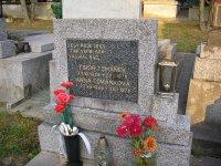 Miesto posledného odpočinku Tibora Tománeka a jeho manželky