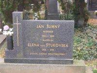 Ján Šunnyi - Šumný s manželkou odpočívajú v Zlatách Moravciach
