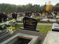 Otto Lexmann na cintoríne v Novákoch