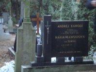 Mária Kamodiová r. Šumná s manželom v Zlatých Moravciach